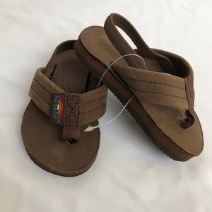 Baby, toddler rainbow sandals size 3-4